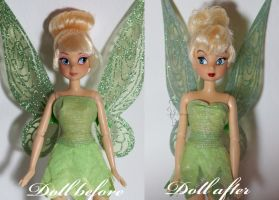 Tinkerbell 1953 OOAK Doll by lulemee