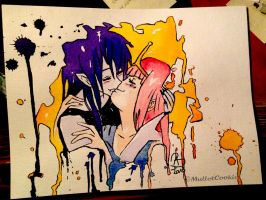Sweet Kiss - Marcy x PB by Ruepelwelpe