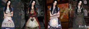 Alice Madness Returns Dresses for TS2 by ZaumaSP