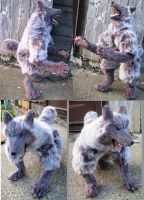 Sylvie Werewolf Plush Toy by Jarahamee
