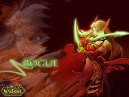 Blood Elf Rogue by pico79