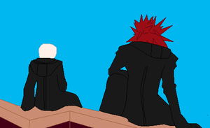 you and axel base 2 by Yuki-Itzal