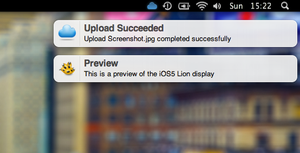 iOS5 Lion Growl by SkyJohn