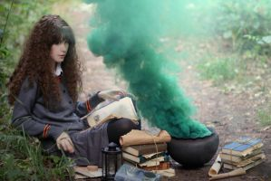 my Hermione Jean Granger cosplay by Lily--Lu