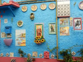 Adorned the walls of a house by Landskapers