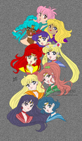 10 Sol Senshi by PhiMouse