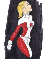 Saturn Girl by TheDarkk13