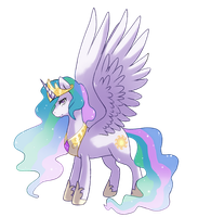 Princess Celestia by meer712