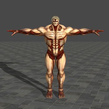 Armored Titan - Attack on Titan: Wings of Freedom by TheForgottenSaint47