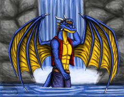 Dragon hot summer by Ravenfire5