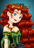 Royal Jewels: MERIDA by MissMikopete