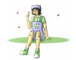 Humanstuck Nepeta by bulbasaur22
