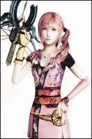 Serah x3 by Serah-Lightning