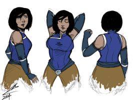 korra's new look by shadoefax