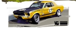 '67 Terlingua Mustang by airgee