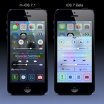 How iOS 7 Control Center should look like by ajozsef