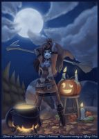 Muerte's Halloween 2004 by workshop