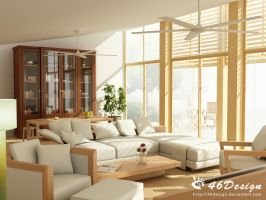 In the Living Room III by 46design
