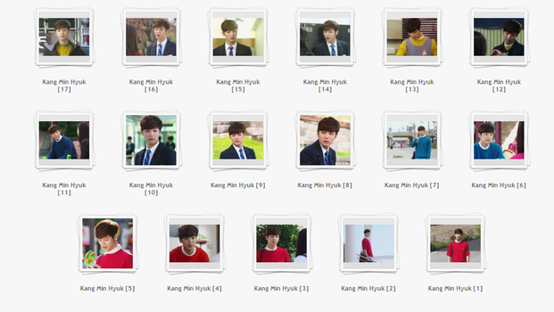 #5 : Pack stock Kang Min Hyuk by JuneNaoo