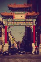 chinese gate - antwerp v2 by codeboy