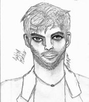 Ashton Kutcher Grayscale by Lilrxox