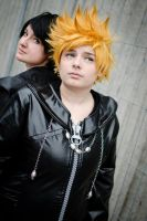 Roxas and Xion - Devided. by Millahwood