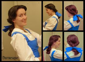 How to: Belle's Town Hair by Durnesque