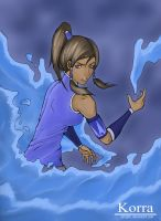 Korra by xCryptic