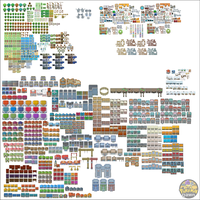 Pokemon Dawn Tileset - Red-eX(Omega/Lukasz L.) V.2 by The-Red-eX