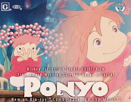 ponyo contest entry four. by msirae