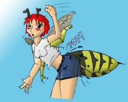 Beegirl TF Digitally Colored by MageOmega