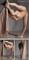 Ballerina Stretch by livemodelbooks