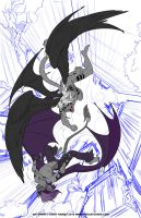 WIP Eerie Hates Mictain by shadowpantherkat