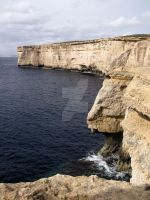 Cliffs of Fomm Ir- Rih by Maltese-Naturalist