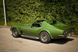 Green Stingray. by AmericanMuscle
