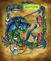 His Space - Sonic Urban by flickersowner