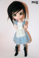 Hand-made alice dress by Puppet-E
