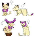Persian/Delcatty babies Auction (3 OPEN) by KarmaDash