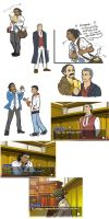 ac3/phoenix wright xover doodles by blacktenshi22