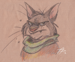 Pubdoodles - Khajiit by fnook