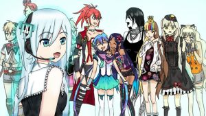 Ring Suzune and others Vocaloids! by Dianny-chan