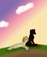.::Sunrise for Us::. by Mustang-Heart