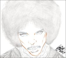 AFRO PRINCE PENCIL by ARTofTROY