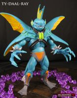 Custom MOTUC Ty-Daal-Ray figure by Jin-Saotome