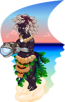 Sea breeze shaman by niconosave