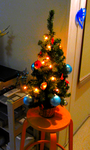 Plastic Christmas Tree by HydraCarina