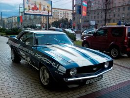 Camaro SS 396 in Moscow streets by overmoder
