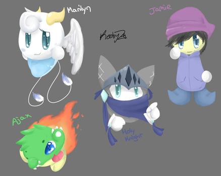 Adoptables 7 [closed] by KeebyZ