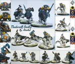 Space Wolves Thunderwolf Cavalry by jstncloud