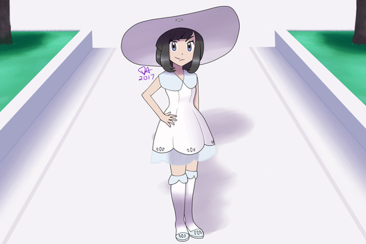 SunMoon Girl in an Alt. Timeline - Request by Delusion-Dealer